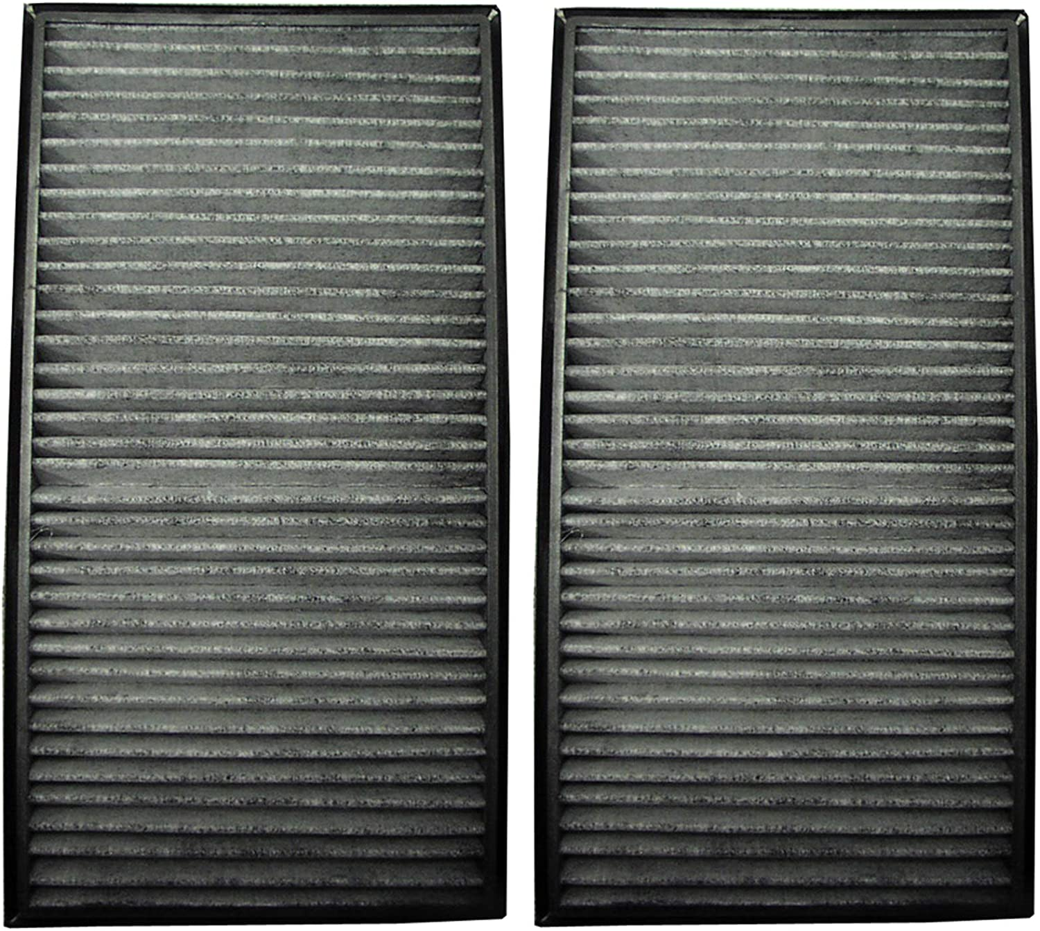 Premium Quality Cabin Air Filter For 2008 BMW M3 Note: Media: Charcoal, Particulate, 4pack filter GKI
