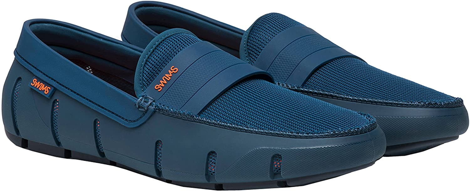 efb1d68be80 SWIMS Stride Single Band Keeper Poseidon Navy Mens Loafers Size 9M   Amazon.co.uk  Shoes   Bags