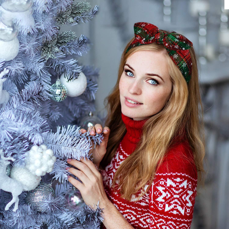 Christmas Trees Turban Headband