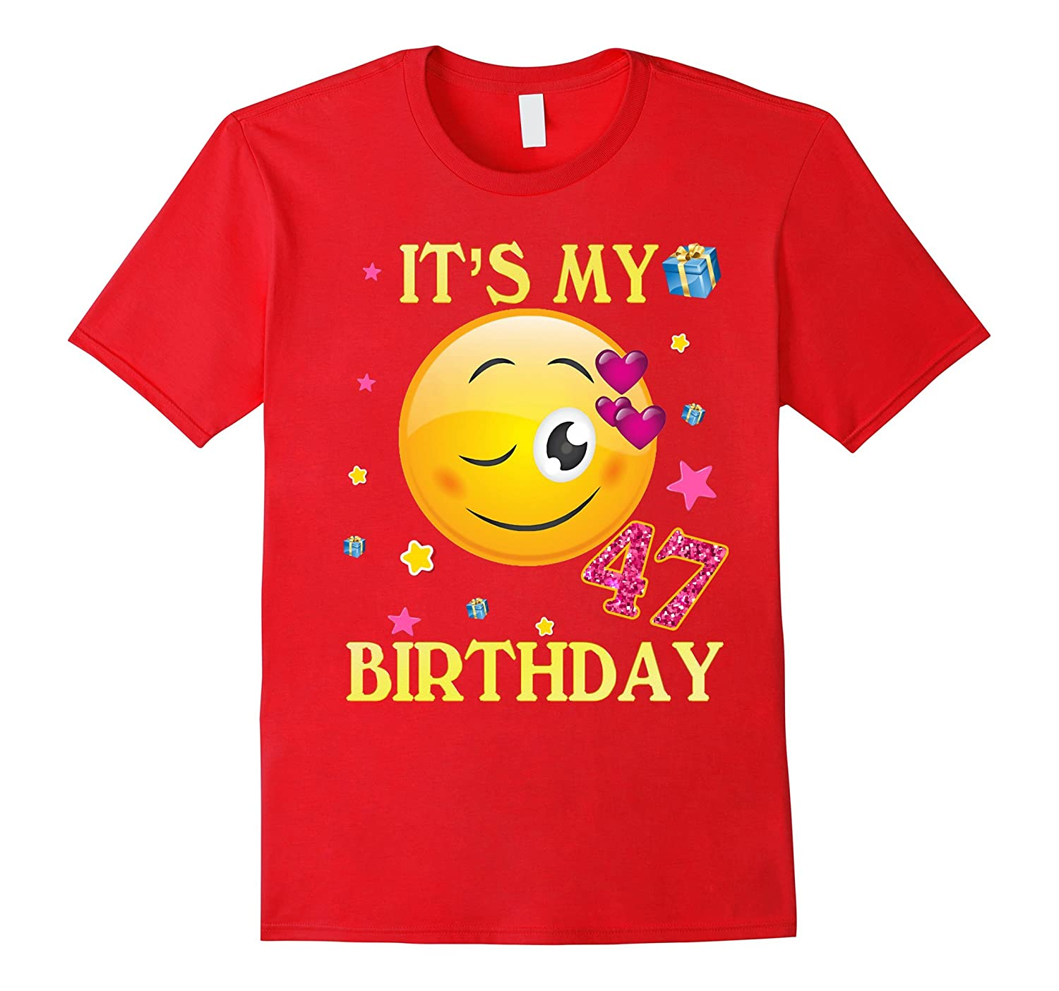 Its My 47th Birthday Shirt 47 Years Old Gift For Women ANZ