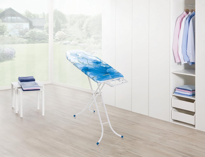 Leifheit  71622 Classic M Basic Color Edition 2017 Table /à repasser M/étal Blue 40,5 x 8 x 141 cm