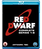 Red Dwarf Series 1 - 8 Boxset BD [Blu-ray]