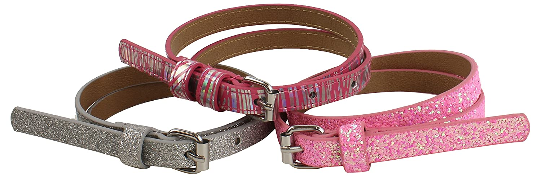 Verge Little 3 Pack Girls Belts