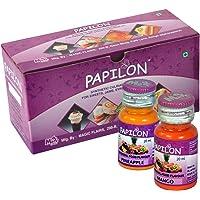 PAPILON FOOD FLAVOURS & COLOURS Set Of 10 Flavouring Emulsions
