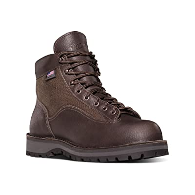 """Danner DANNER LIGHT II 6"""" DARK BROWN Outdoor Boots Vibram Sole   GORE-TEX (GTX) Waterproof  Hiking Combat Boot   Mountain Boot   Downhill Braking and Side-hill Traction   Made in USA"""