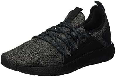b6737faca87959 Puma NRGY Neko Knit Black Black  Buy Online at Low Prices in India -  Amazon.in