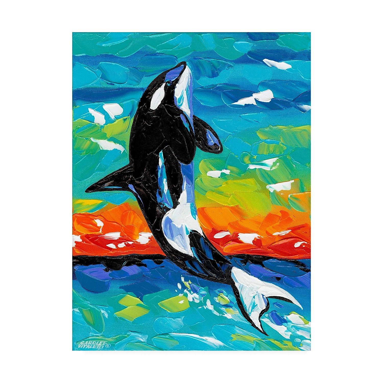 14x19 Trademark Fine Art Ocean Friends Bold I by Carolee Vitaletti, 14x19