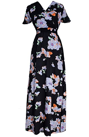 Amazon Com Maxi Dress For Women Plus Size Long Fancy Casual Cotton