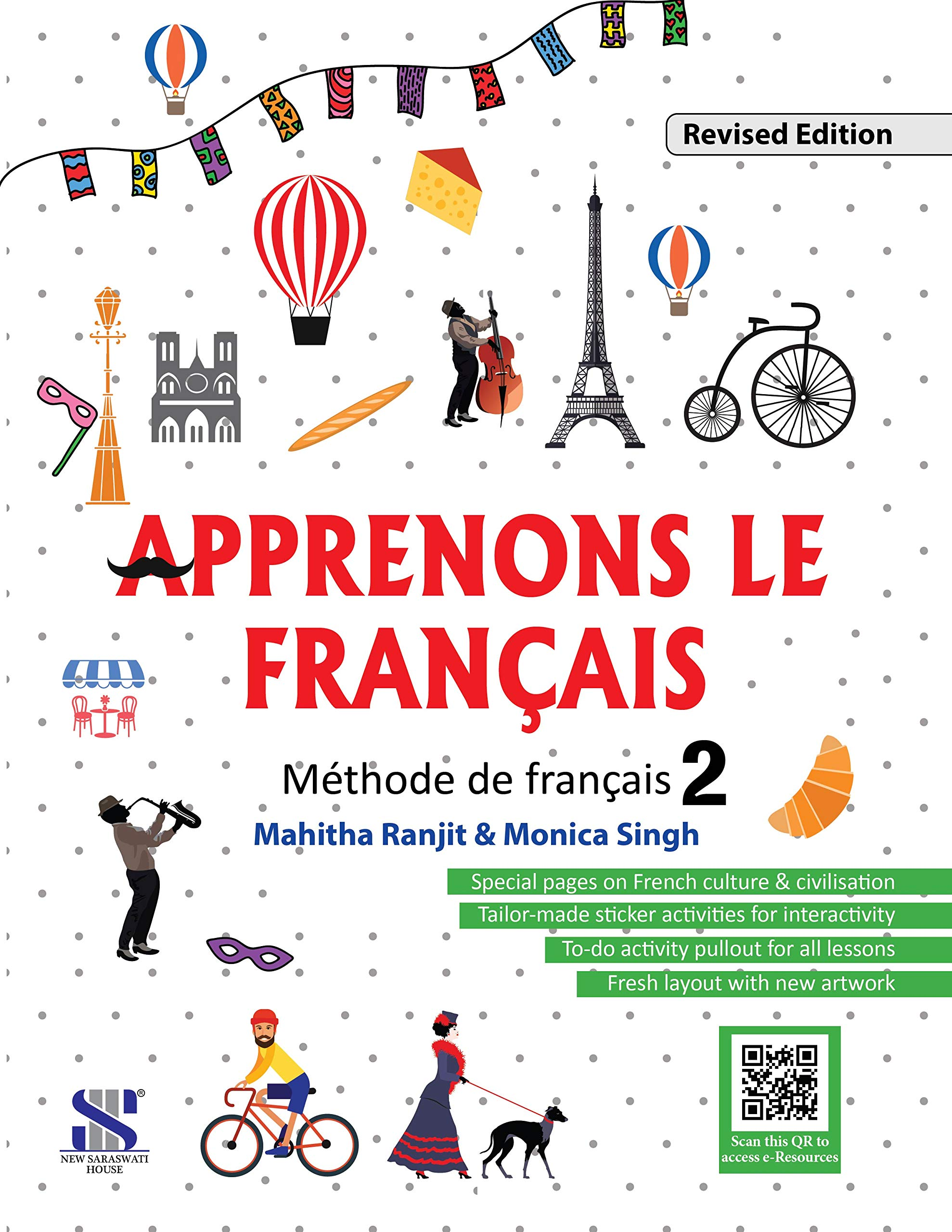 Buy Apprenons Le Francais French Textbook 02: Educational Book ...