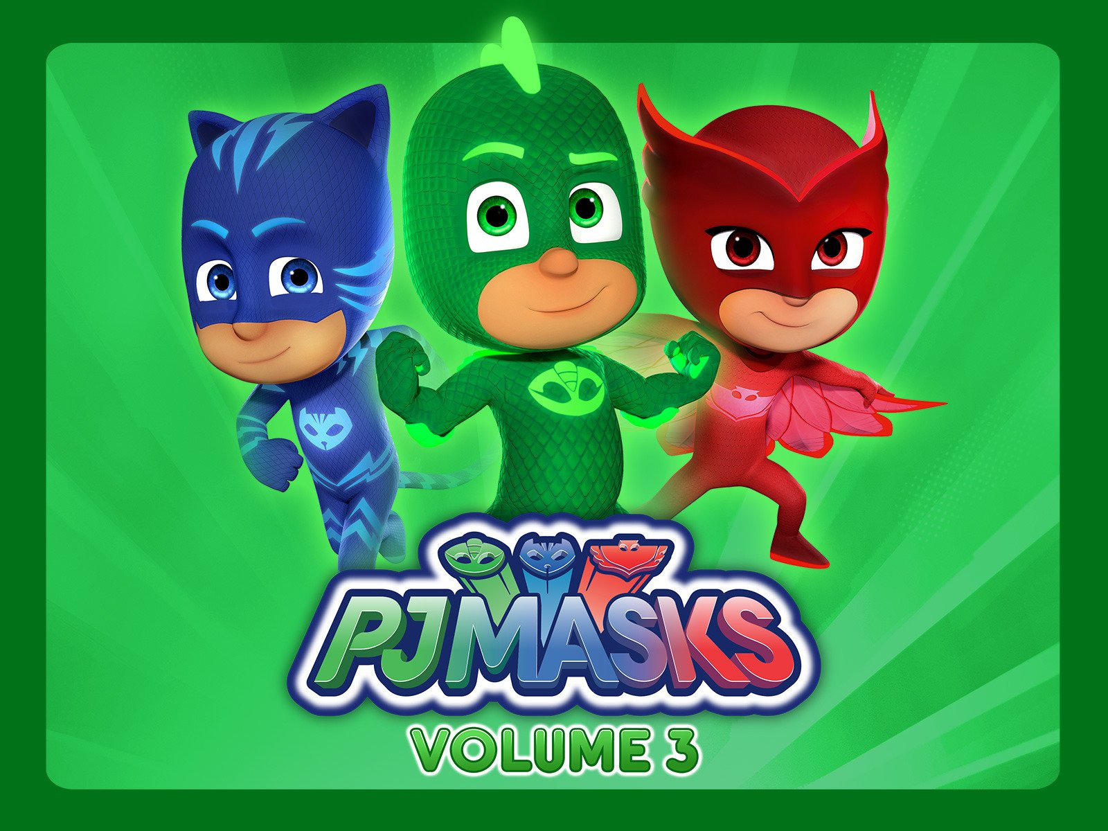 Amazon.com: PJ Masks, Volume 3: Jacob Ewaniuk, Kyle Harrison Breitkopf, Addison Holley, Christian De Vita, Wilson Dos Santos, Merle-Anne Ridley, ...