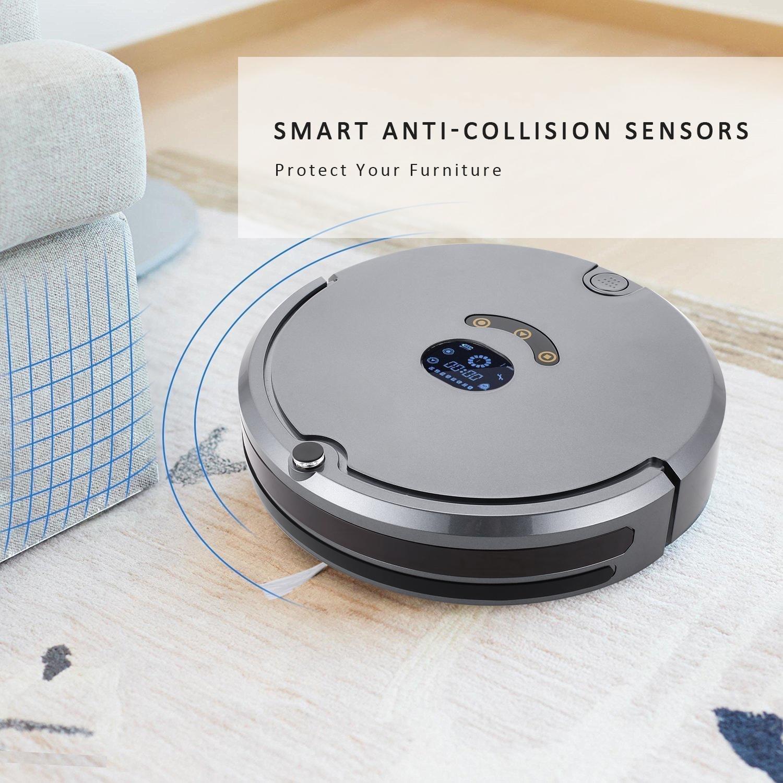 aceshin Robot Aspirador Robot de Limpieza para suelos barrer y fregar automáticamente: Amazon.es: Ropa y accesorios