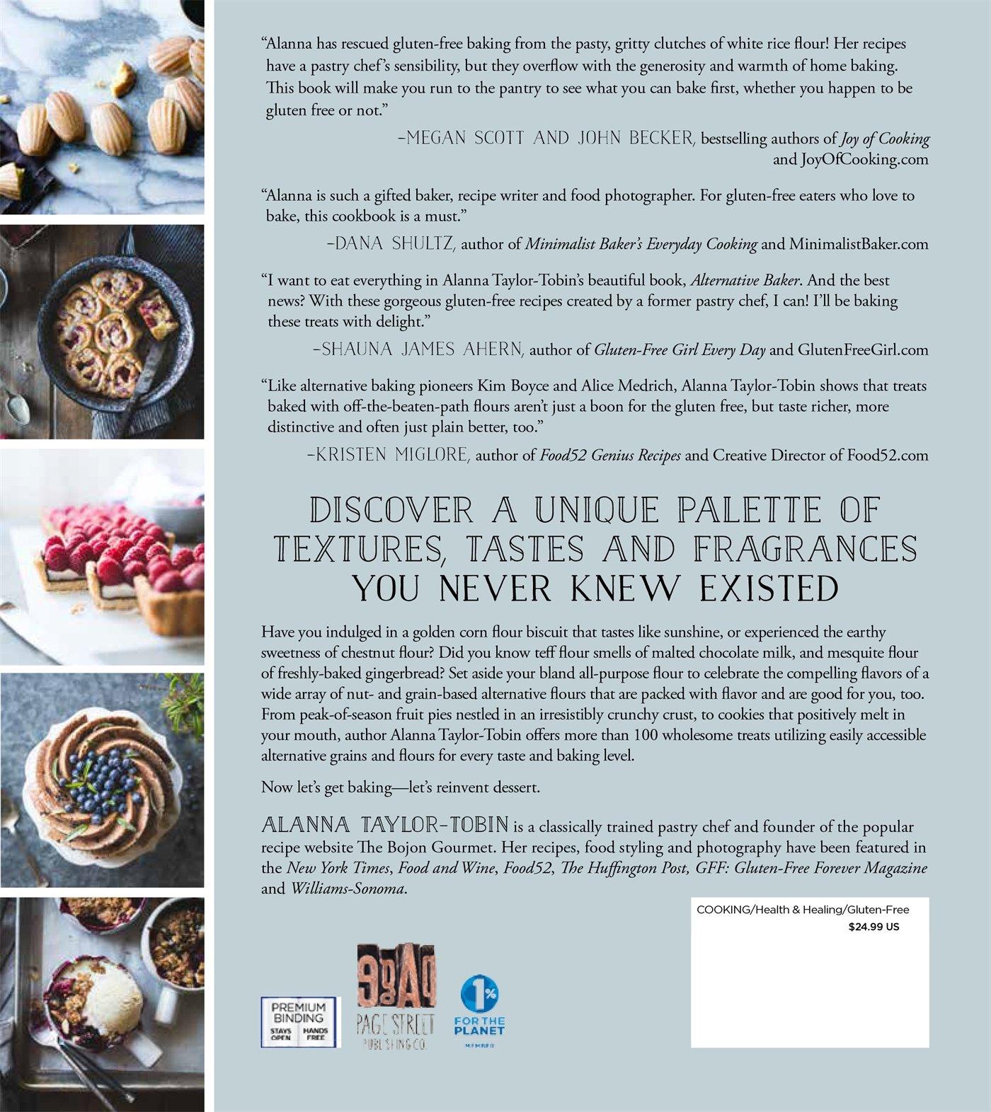 alternative baker reinventing dessert with gluten free grains and
