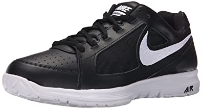 caadf3ee39 Nike Mens Air Vapor Ace Black White White Tennis Shoe 10.5 Men US