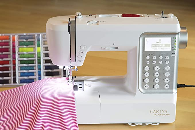 Máquina de coser Carina Platinum 2.1 sucesor de la evolución ...