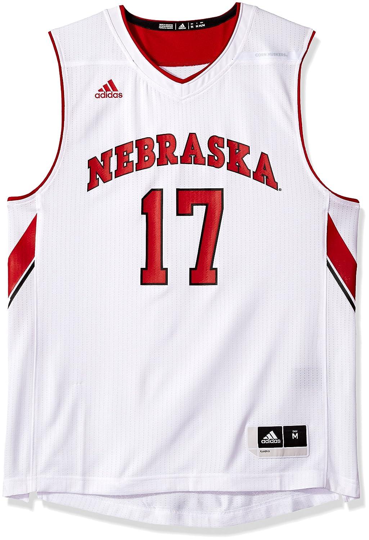 Amazon.com   adidas NCAA Nebraska Cornhuskers Mens Replica Basketball  Jerseyreplica Basketball Jersey 6f6a654cc