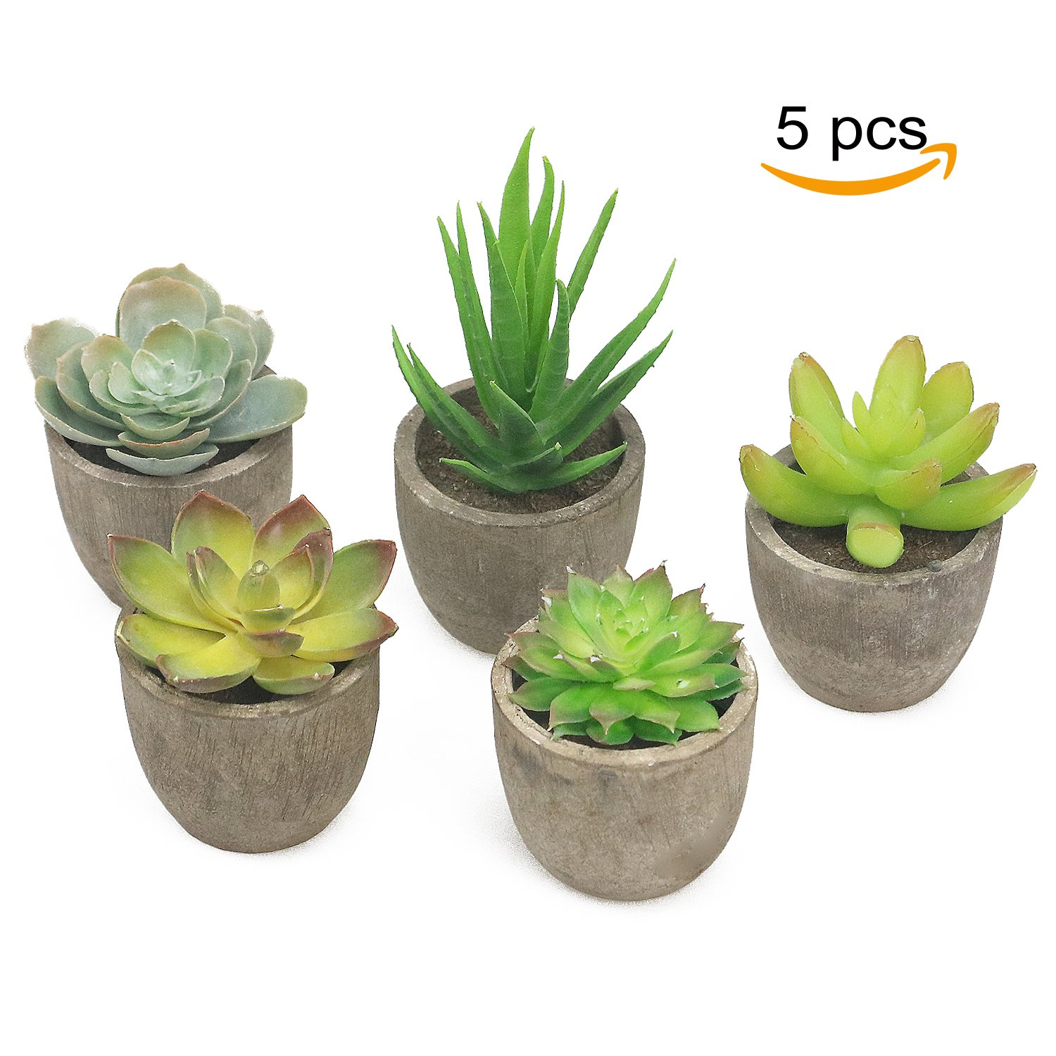 galleon artificial succulents plants fake potted cactus faux cacti green for home indoor. Black Bedroom Furniture Sets. Home Design Ideas