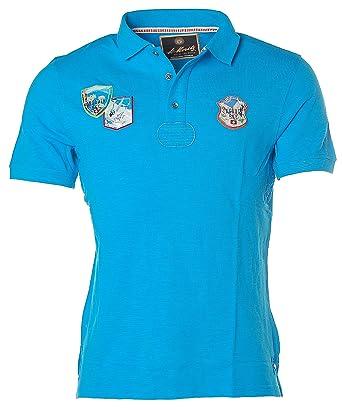 St. Moritz Herren Kurzarm Shirt Poloshirt Polokragen Pikee Engadin Ski:  Amazon.de: Bekleidung