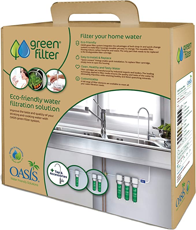 Green Filters Filtros para el Agua. Kit Premium.: Amazon.es: Hogar