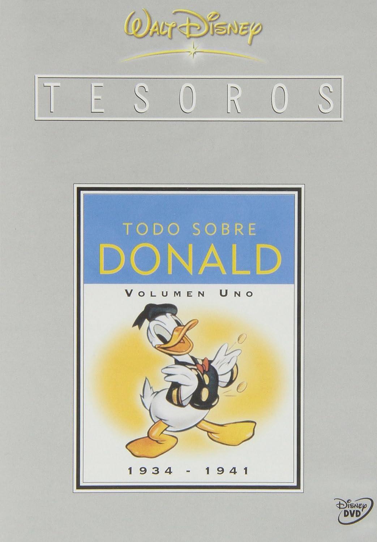 Tesoros de Disney: Todo sobre Donald  (Volumen 1: 1934-1941) [DVD]