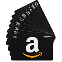 Amazon.ca Gift Cards, Pack of 10 (Various Card Designs)