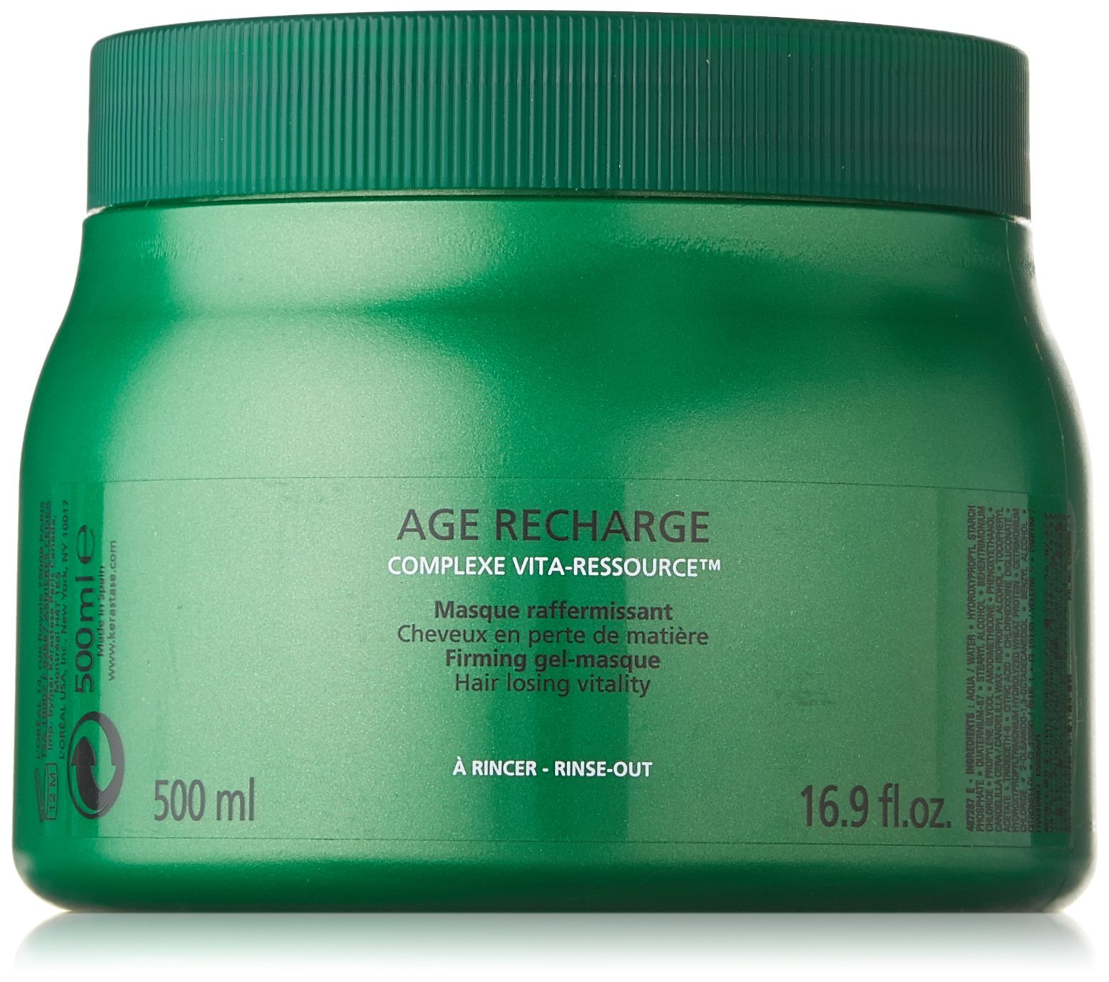 Kerastase Age Recharge Firming Gel Masque, 16.9 Ounce