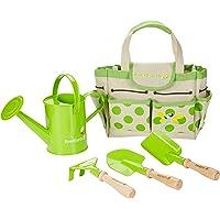 Everearth Outillage De Jardin Pour Enfants - Set de jardinage avec sac et outils EE33646