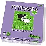 CreativaMente 100 - Gioco in Scatola Pytagora - Numbers in Puzzle