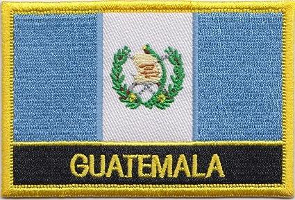 Bordado de la bandera de Guatemala parche escudo del Real Mallorca/Sew Rectangular encendido o