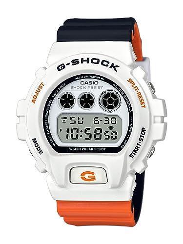 Casio Reloj Digital para Hombre de Cuarzo con Correa en Resina DW-6900NC-7ER: Amazon.es: Relojes