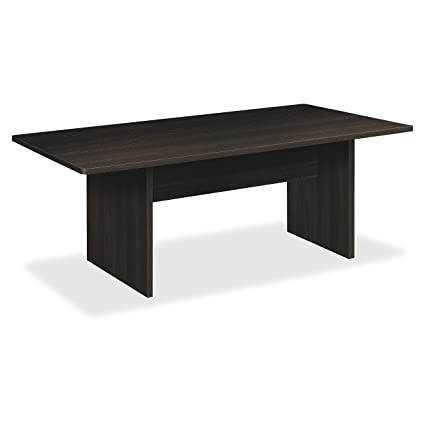 HON BL Series Conference Table, Rectangle, Flat Edge Profile, Slab Base,  72u0026quot