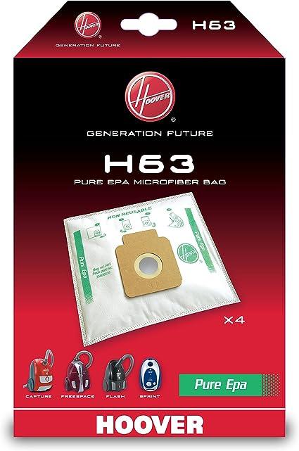 Hoover H63 H63-Hoover Bolsa para aspiradora Pure-Epa. Compatible ...