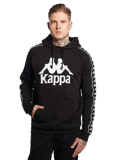 Kappa Hombre Auténtica Sudadera con Capucha Slim Hurtado, Blanco: Amazon.es: Ropa y accesorios