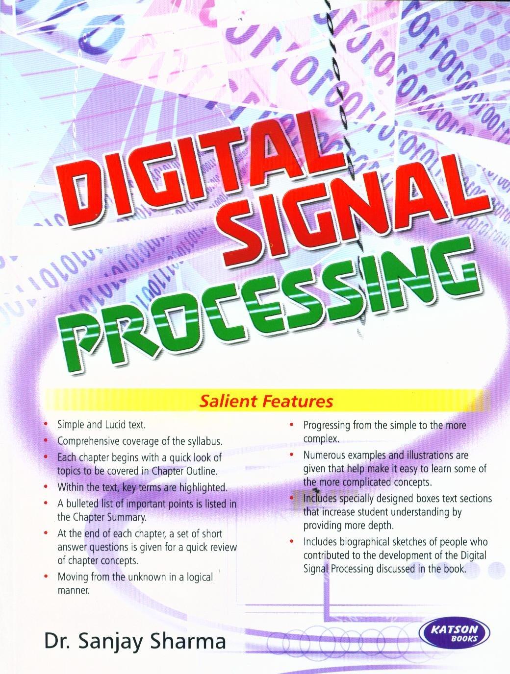 Digital Signal Processing By Sanjay Sharma Ebook