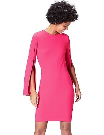 FIND Vestito con Maniche con Spacco Donna 0c2b7d2f0c1