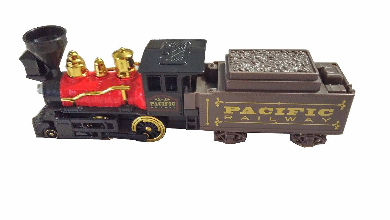 Pull Back Action Train locomotive-6 PC B01MPW0UFG