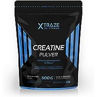 Creatin Monohydrat Pulver 500g – Kreatin-Pulver vegan geschmacksneutral 100% rein Qualität aus Deutschland - für Kraftsport | Bodybuilding | Fitness
