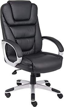 Boss Office Products B8601 LeatherPlus Chair