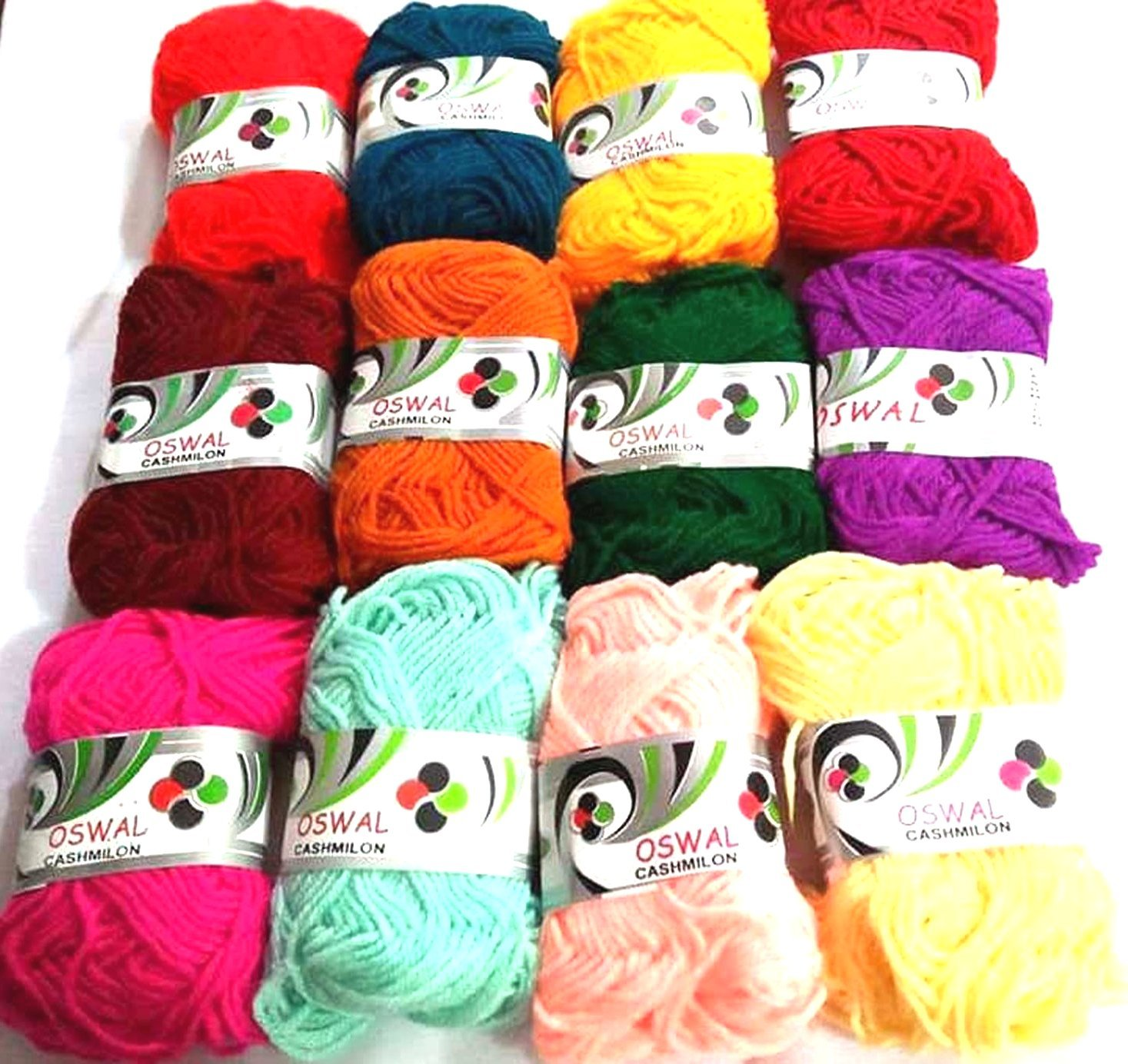 9e91a5ea30 Lovely Arts Collection Rainbow Colour Wool Ball