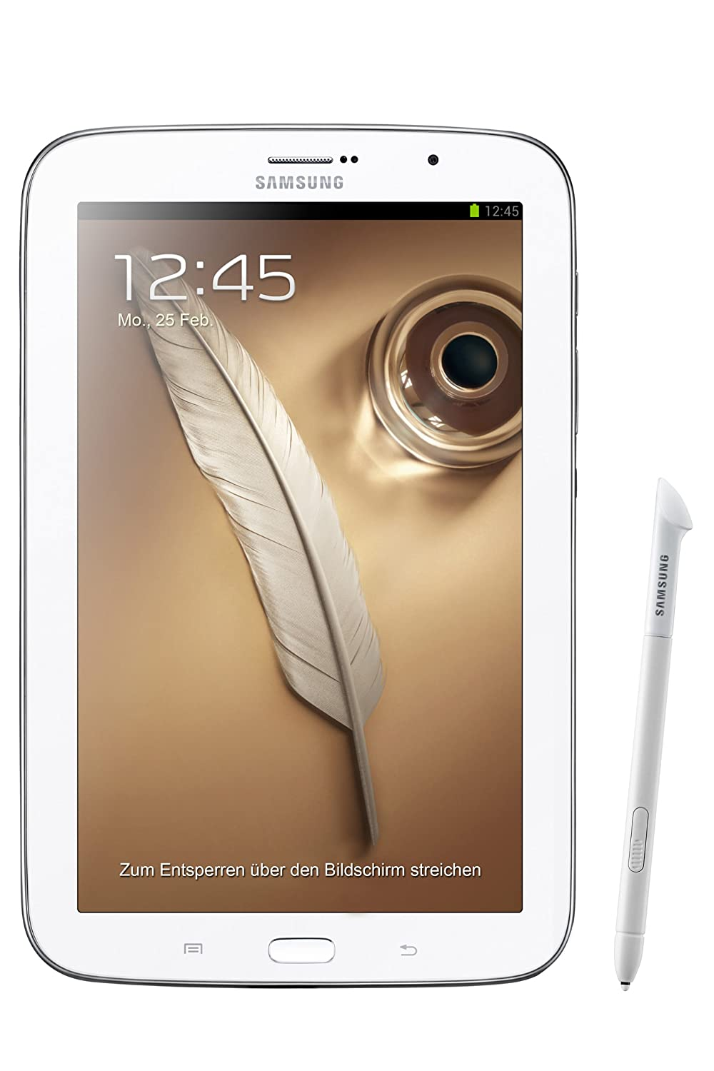 "Samsung Galaxy Note 8.0"" 16GB WiFi + GSM GT-N5100 Factory Unlocked (White) - International Stock No Warranty"