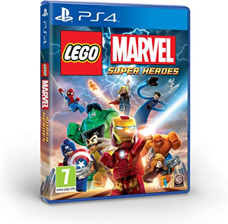 LEGO Marvel Super Heroes - Edición Exclusiva Amazon - PlayStation 4: Amazon.es: Videojuegos