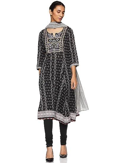 94b4415da BIBA Women s Anarkali Salwar Suit  Amazon.in  Clothing   Accessories