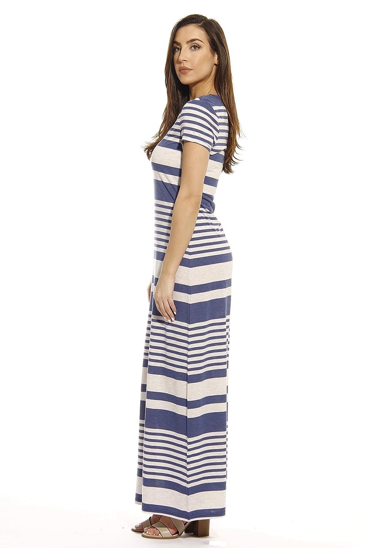 e268f2194edb3 Just Love Short Sleeve Maxi Dress Summer Dresses at Amazon Women's Clothing  store: