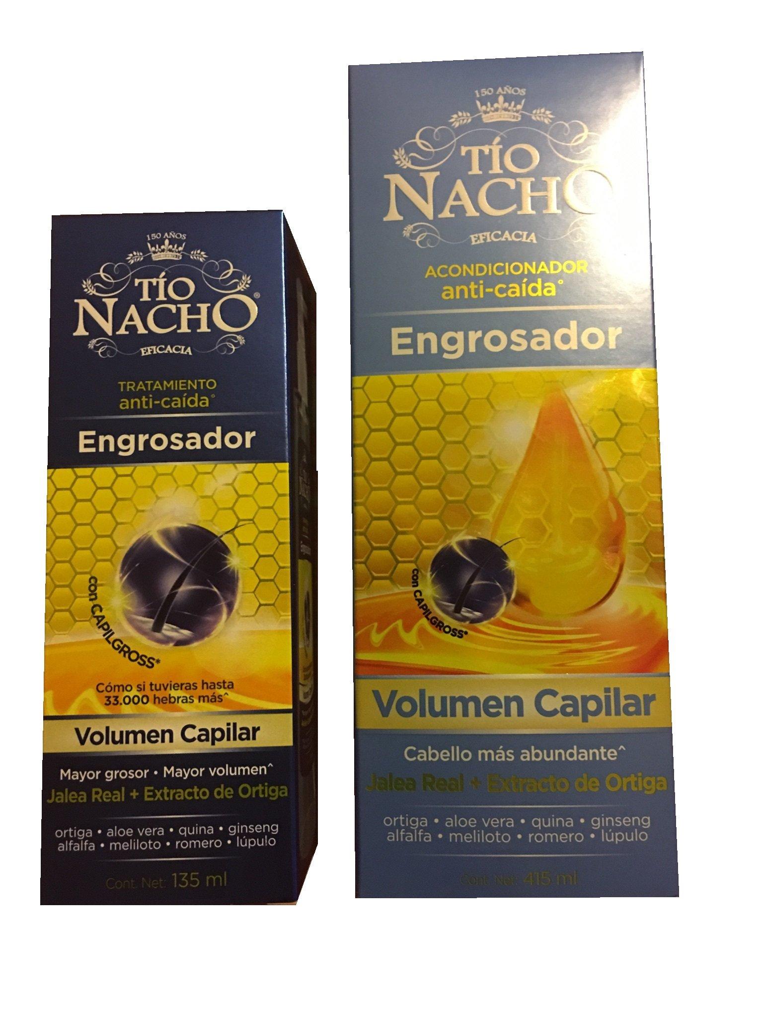 Set of Two Tio Nacho Engrosador Dcache Exclusive Gift Set by Tio Nacho