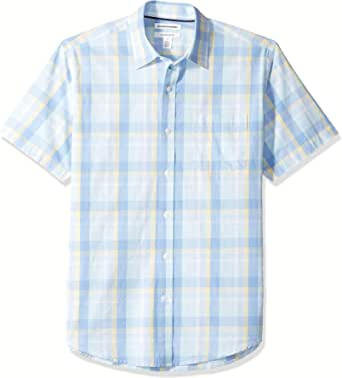 Amazon Essentials Men's Regular-Fit Short-Sleeve
