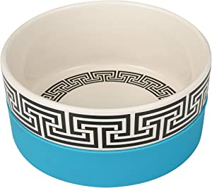 Now House for Pets by Jonathan Adler Bargello Duo Dog Bowl