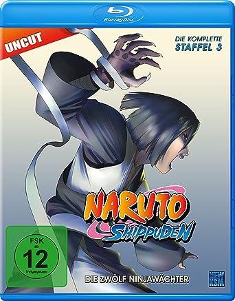 Naruto Shippuden Staffel 3 Die Zwolf Ninjawachter Episoden 274 291
