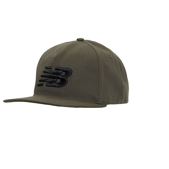 New Balance 5 Panel Pro II Logo Gorra, Unisex, Dark Covert Green ...