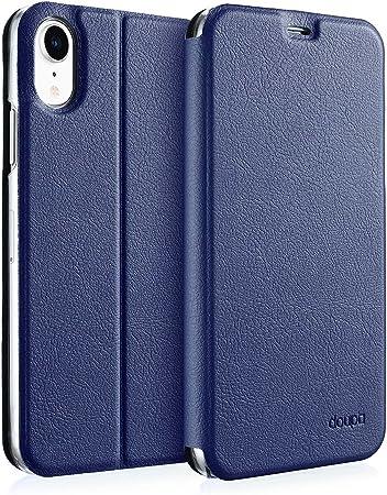 Doupi Flip Case Für Iphone Xr Deluxe Schutz Hülle Mit Computer Zubehör
