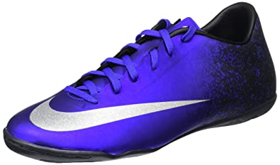 fa6cf6f497c7 Nike MercurialX Victory V Ronaldo Indoor Shoes  DEEP Royal Blue  (8.5)