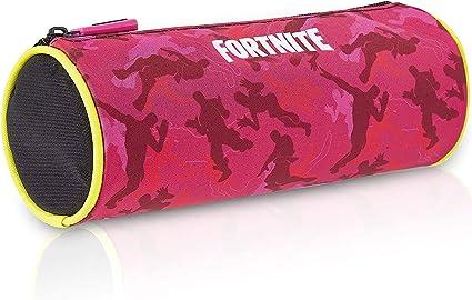 Fortnite Estuche Escolar, Estuches Escolares Para Niños 3 Diseños Disponibles, Material Escolar Producto Oficial Fortnite, Regalos Originales Para Niños Niñas Adolescentes (Rosa): Amazon.es: Oficina y papelería